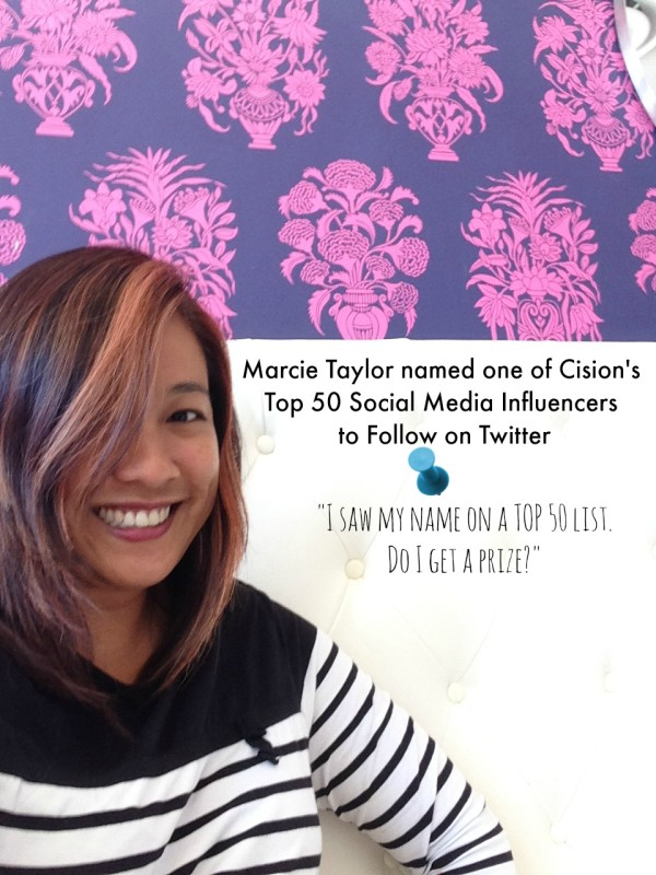 Marcie Taylor | Top 50 List | Twitter