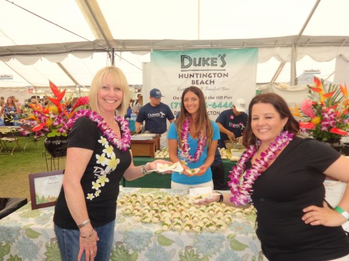 Duke's Restaurant have been a part of the Taste of Huntington Beach for years.