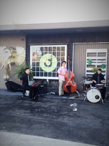 Jazz Band from Orange County High School for the Arts at CLASS Kitchen