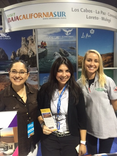 Hola from the Baja California Sur/ Mexico Booth