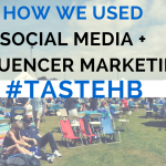 Increasing ticket sales for Taste of Huntington Beach with Social Media and Influencer Outreach