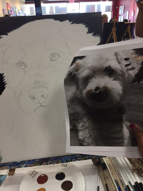 Dog Painting | Painting with a Twist