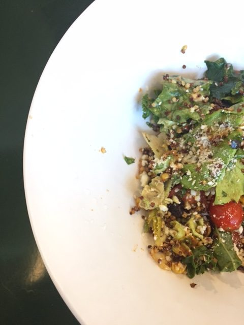 Avocado and Quinoa Superfood Ensalada was super good!
