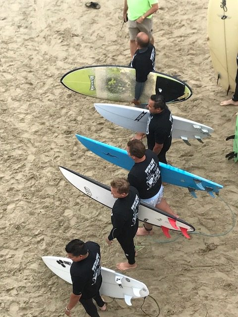 Surfers ready for Paddleout