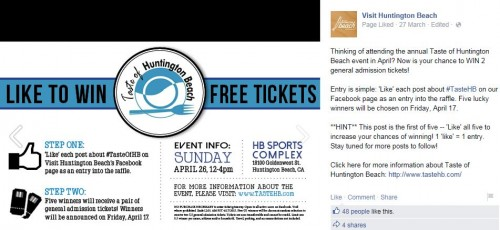 Visit Huntington Beach and Taste of Huntington Beach