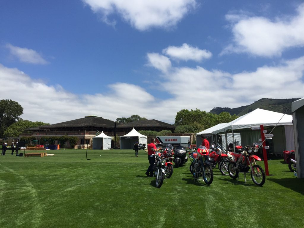 Quail Motorcycle Gathering Field