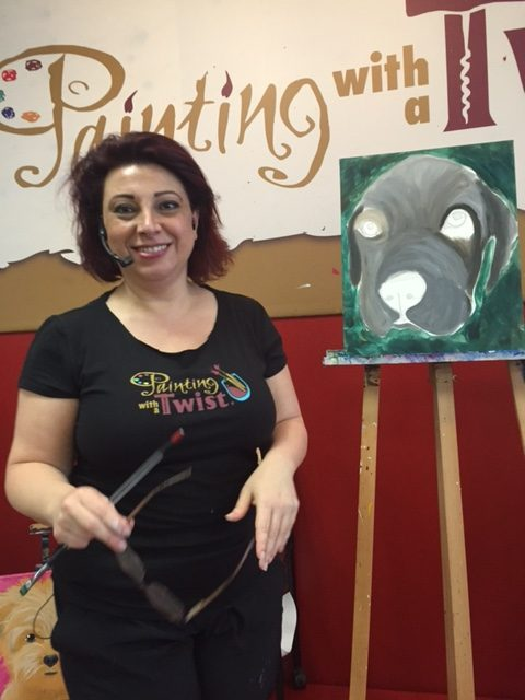 Painting with a Twist, Huntington Beach