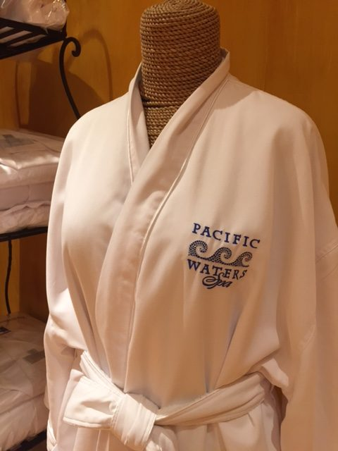 Pacific Waters Spa Robe