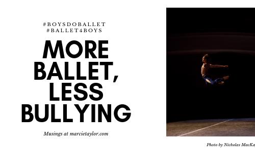 Julian MacKay Photo by Nicholas MacKay, More Ballet, Less Bullying